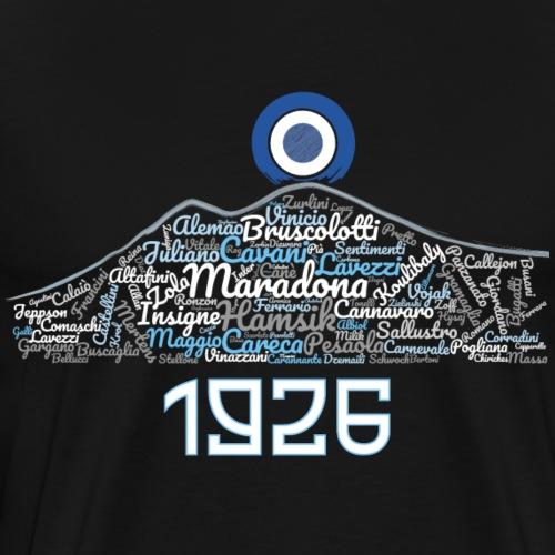 Napoli Calcio Cloud - Light version - Maglietta Premium da uomo