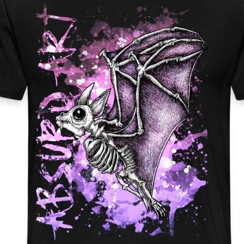 Knochentierchen Fledermaus von Absurd ART - Männer Premium T-Shirt