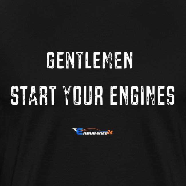 "T-Shirt Premium Homme ""Start your engines"""