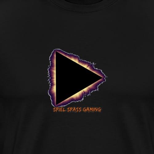 Spiel Spass Gaming MainDesign Bekleidung - Männer Premium T-Shirt