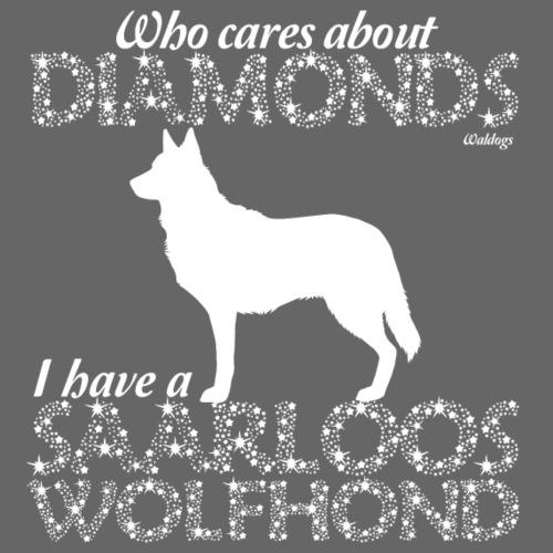 Saarloos Diamonds - Miesten premium t-paita