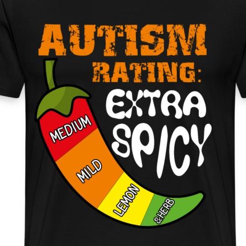 autism rating extra spiny - Men's Premium T-Shirt