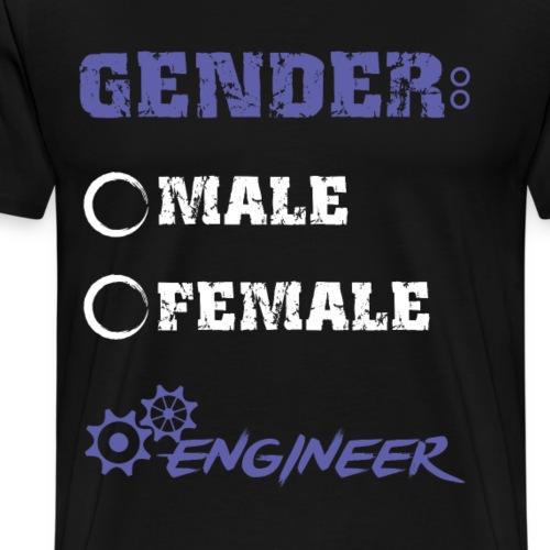 gender male female engineer - Men's Premium T-Shirt