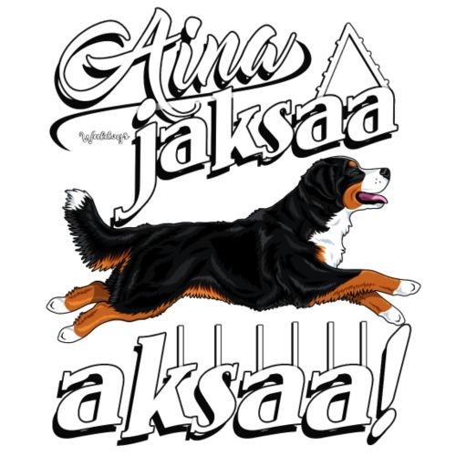 Berninpaimenkoira Aksaa - Miesten premium t-paita