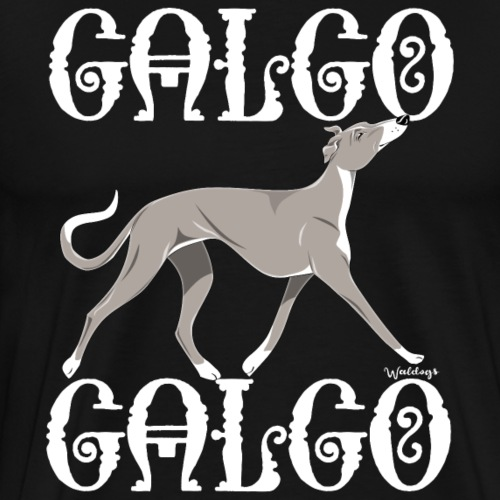 Galgo Galgo 3 - Men's Premium T-Shirt