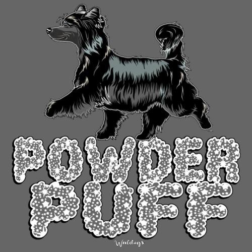 Powder Puff Bling Black - Miesten premium t-paita