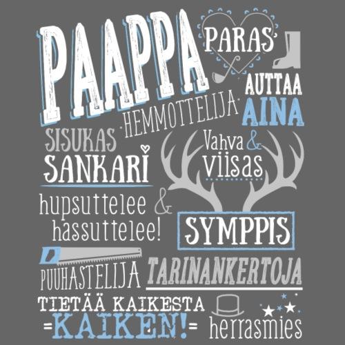 Paapan Oma Paita V - Miesten premium t-paita