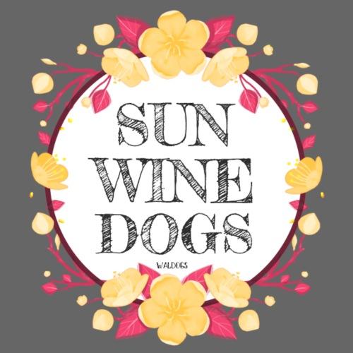 Sun Wine Dogs - Miesten premium t-paita