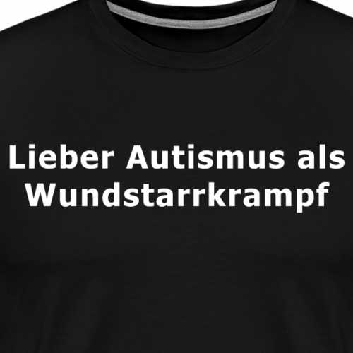 Wundstarrkrampf - Männer Premium T-Shirt