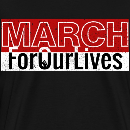 march for our lives - T-shirt Premium Homme
