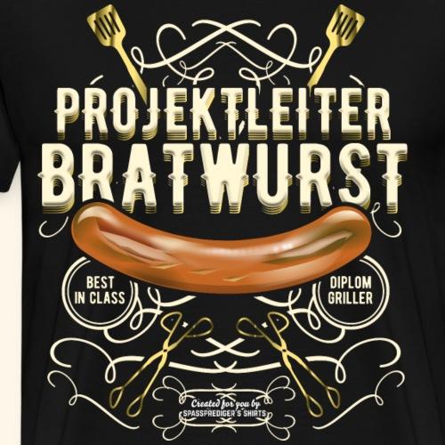 Projektleiter Bratwurst - Männer Premium T-Shirt