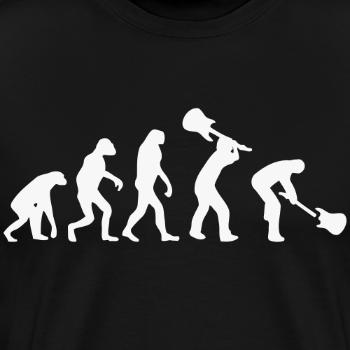 Evolution Rock - Camiseta premium hombre