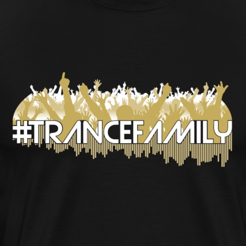 Trance Family (Light) - Premium-T-shirt herr