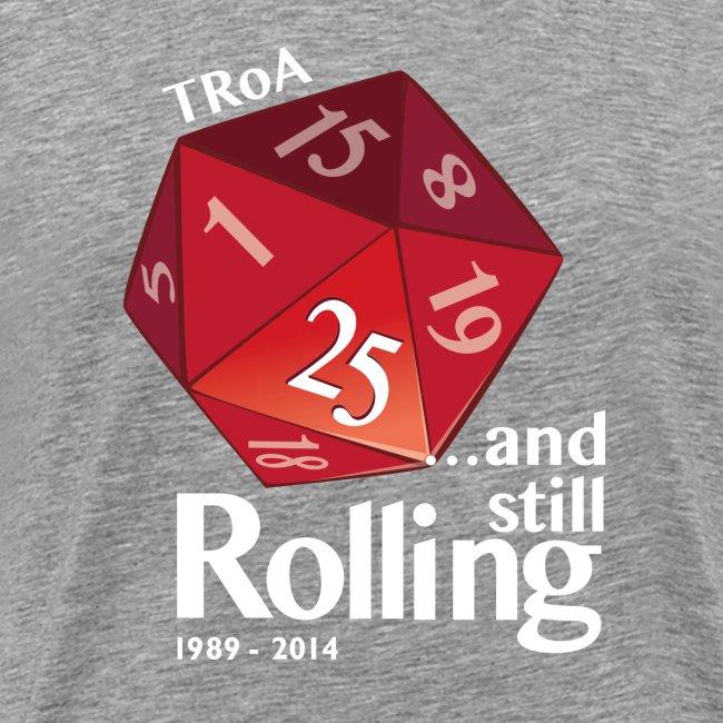 TRoA 25 år - Rød terning