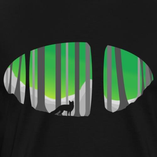 Forest Fox - Men's Premium T-Shirt