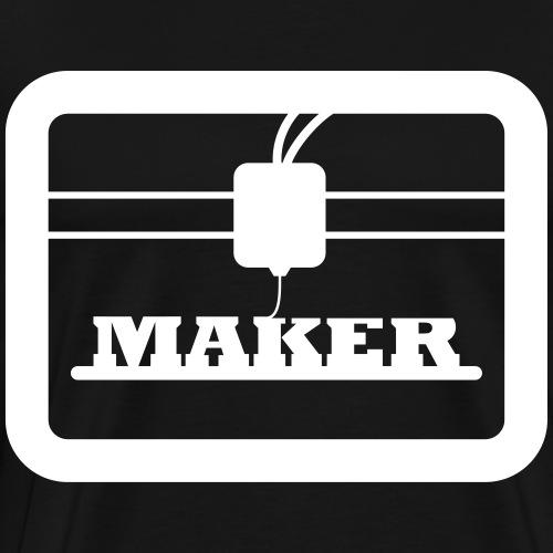 3D Drucker Maker Shirt Geschenkidee - Männer Premium T-Shirt