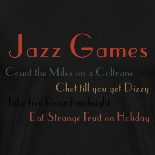 jazz png - Men's Premium T-Shirt