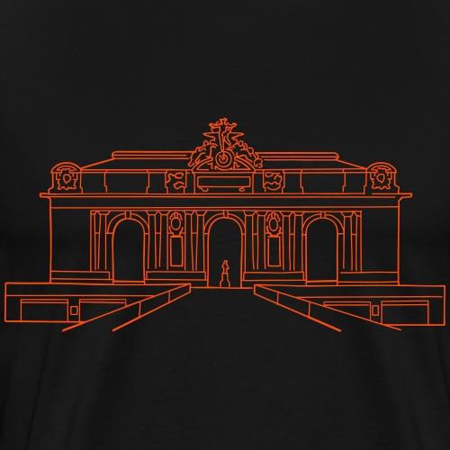 Grand Central Station New York - Männer Premium T-Shirt