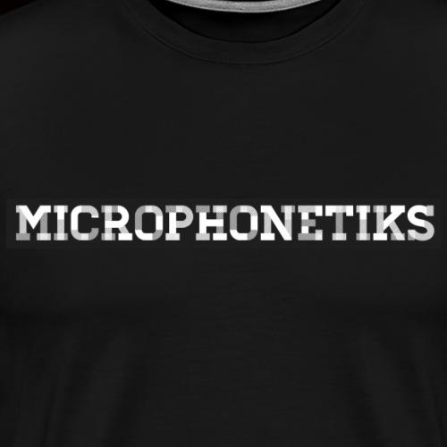 Microphonetiks Schwarzes T-Shirt - Männer Premium T-Shirt