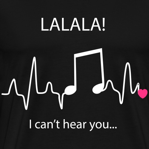 lalala - T-shirt Premium Homme