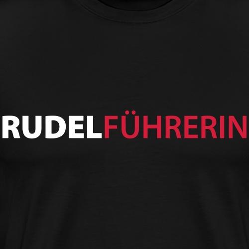 Rudelführerin - Männer Premium T-Shirt