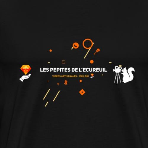 Les pépites de l'écureuil - Logo officiel - T-shirt Premium Homme