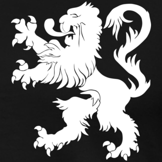 Blason Lions de Guerre Noir