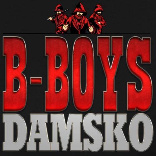 B BOYS DAMSKO LOGO - Mannen Premium T-shirt