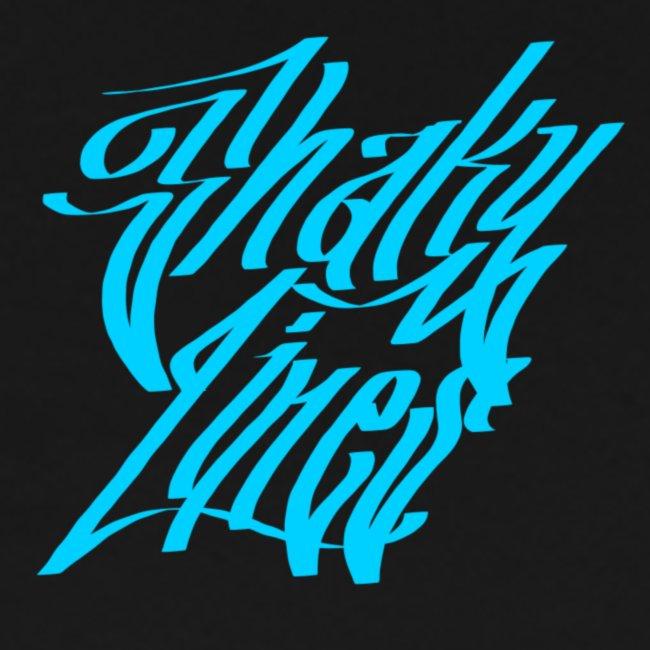 Small logo tee blue