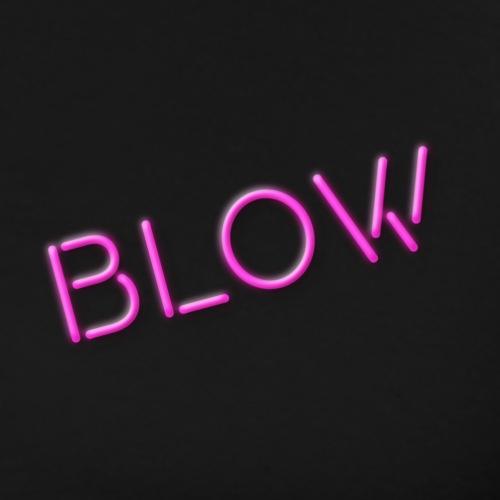 Blow Neon Rose - T-shirt Premium Homme