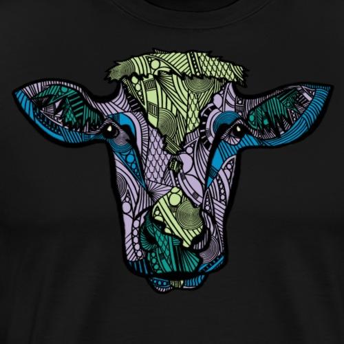 Cow - Premium T-skjorte for menn