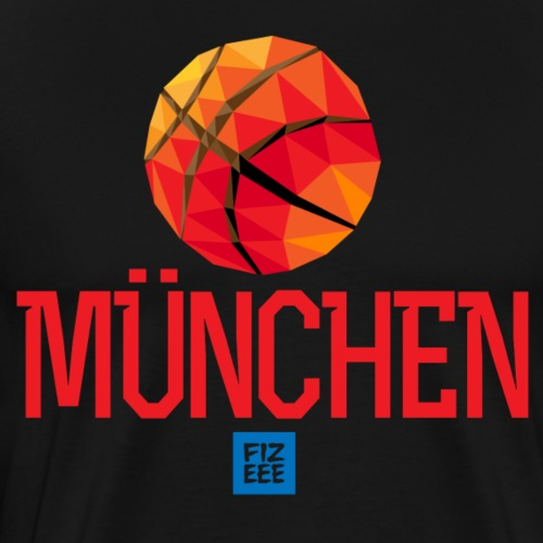München Let`s GOOOOOO - Männer Premium T-Shirt