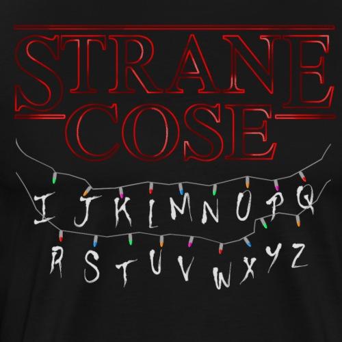 STRANGER THINGS - COSE STRANE - Maglietta Premium da uomo