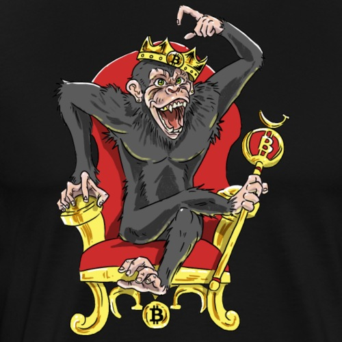 Bitcoin Monkey King - Beta Edition - Männer Premium T-Shirt