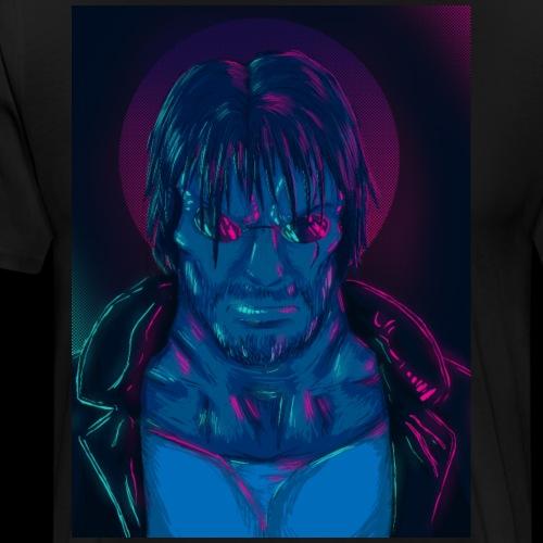 Seekers - Synthwave Samuel. - Männer Premium T-Shirt