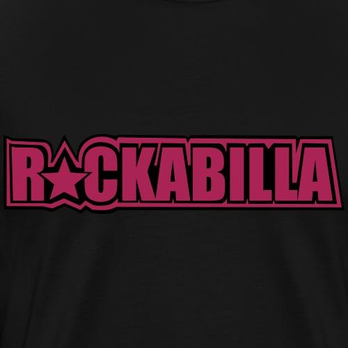 Basic Black & Pink - Männer Premium T-Shirt