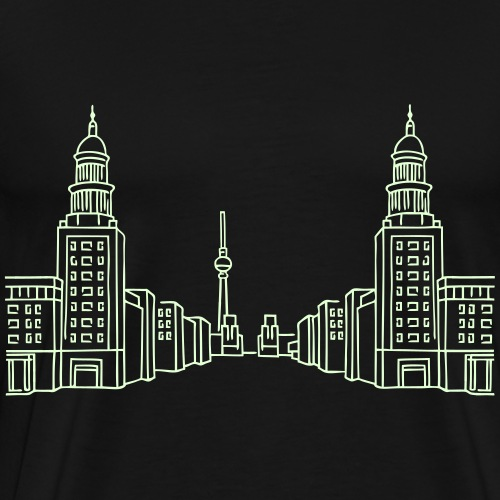 Frankfurter Tor Berlin - T-shirt Premium Homme