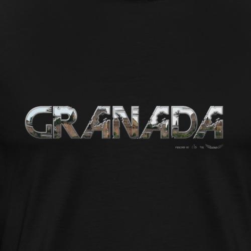 Granada meine Stadt von Lieblingsregion - Männer Premium T-Shirt