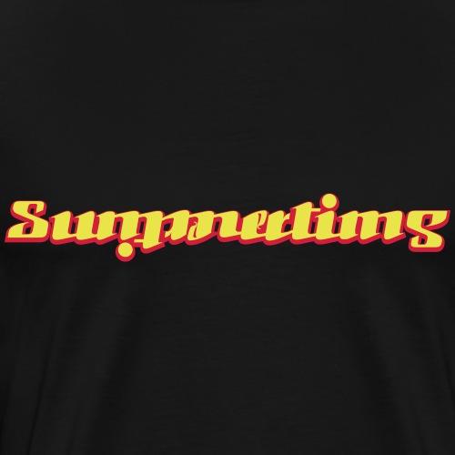 summertime/summertime - Herre premium T-shirt