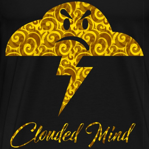 CM1-YELLOW-CIRLCLE - T-shirt Premium Homme