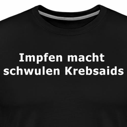 Schwuler Krebsaids - Männer Premium T-Shirt