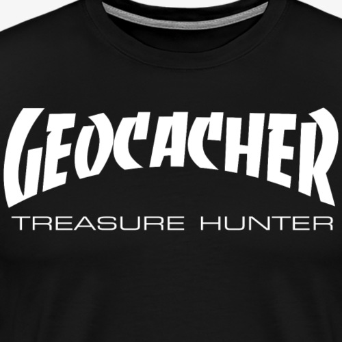 Skate or Cache - Männer Premium T-Shirt