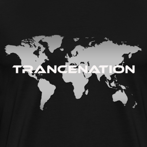 TRANCE NATION - Premium-T-shirt herr