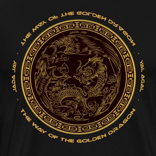 The way of the golden Dragon - Männer Premium T-Shirt