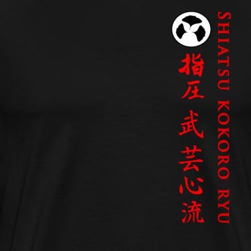 SHIATSU KOKORO RYU - T-shirt Premium Homme