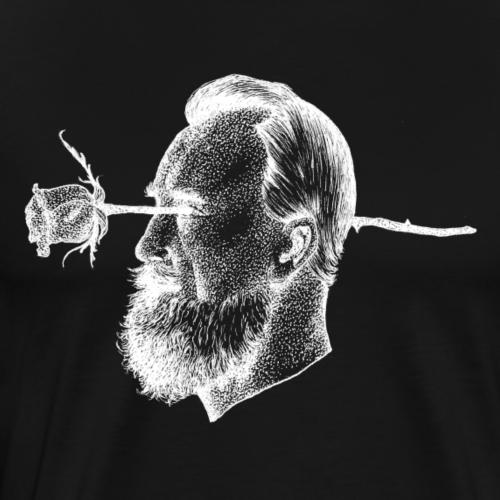 The Rose [WHITE] - Men's Premium T-Shirt