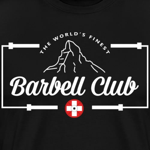 The world's finest Barbell Club _Frame white