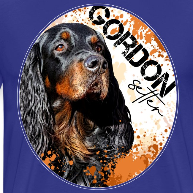 Gordon Setter Splash