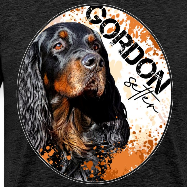Gordon Setter Splash