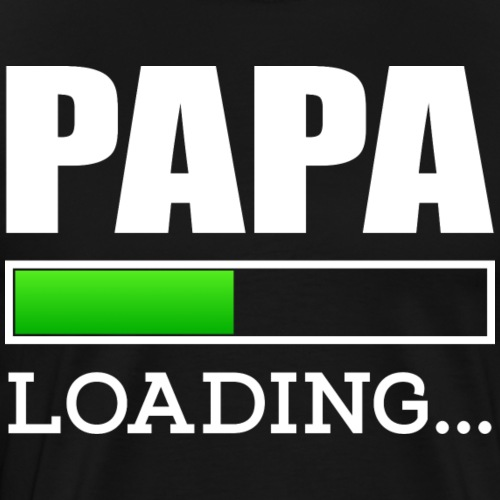 Papa loading - Männer Premium T-Shirt